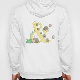 european hedgehog Hoody