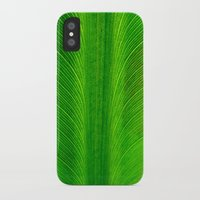 banana leaf iPhone & iPod Cases featuring Banana Leaf by moo2me