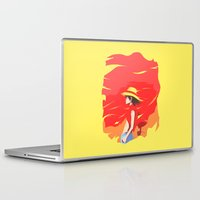 luffy Laptop & iPad Skins featuring Monkey D Luffy by Senior-X