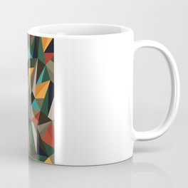 Sliced Fragments II Coffee Mug