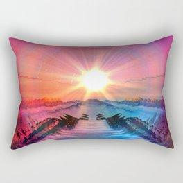 Pink Lemonade_ Rectangular Pillow