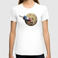 karen hallion T-shirts featuring Summer Voyage by Eric Fan