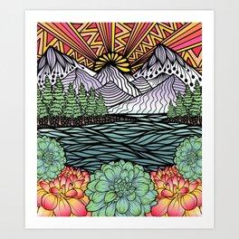 PNW Art Print