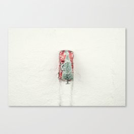 Christmas Eve in a hurry Canvas Print