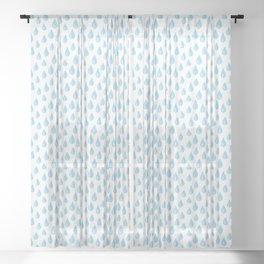 Raindrops Sheer Curtain