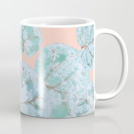 Tropical Sea Grape Leaves Coffee Mug