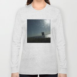 Bus window coast view Long Sleeve T-shirt