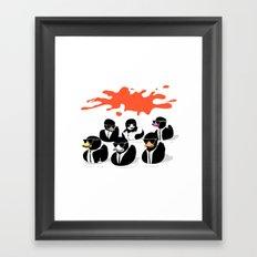 Reservoir Ducks Framed Art Print