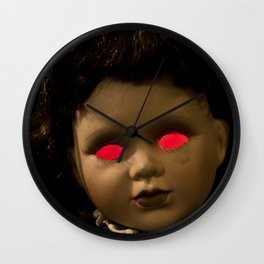 Dolly in the Attic IV Wall Clock