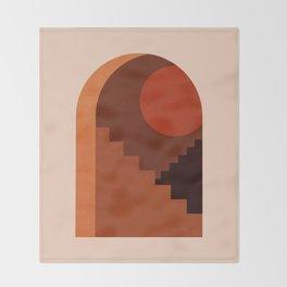 Abstraction_SUN_HOME_MInimalism_001 Throw Blanket