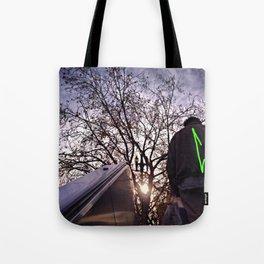 Up Away Tote Bag