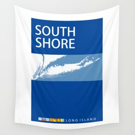 South Shore - Long Island. Wall Tapestry