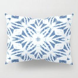 Arrowhead Denim White Pillow Sham