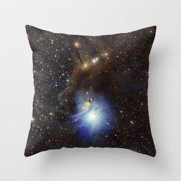 Young Star, Reflection Nebula IC 2631 Throw Pillow