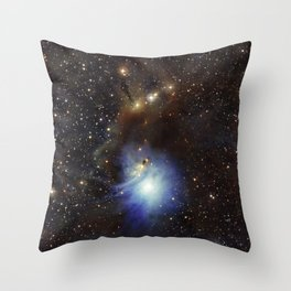 Young Star, Reflection Nebula IC 2631 Throw Pillow