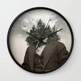 Head in the clouds II Wall Clock