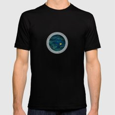 Through the Looking Glass Mens Fitted Tee Black MEDIUM