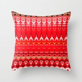 Chili Pepper China Throw Pillow