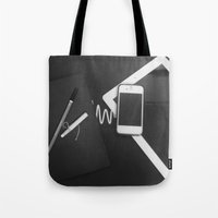 artsy Tote Bags featuring Artsy by Patrick K