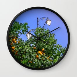 One Night Under The Stars Wall Clock