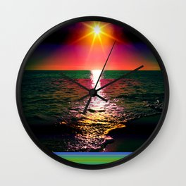 Antarctica Wall Clock