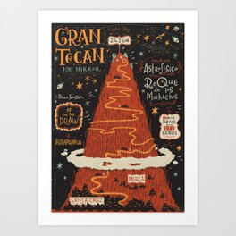 #onthedraw in La Palma - Gran TeCan Art Print