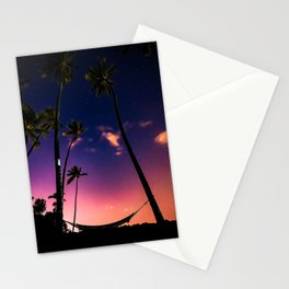Endless Summer Nights Stationery Cards