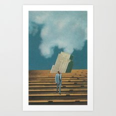 Business Ethics Art Print