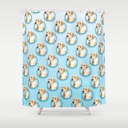 Labrador Retriever Print Shower Curtain