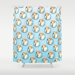 Labrador Retriever Print Shower Curtain