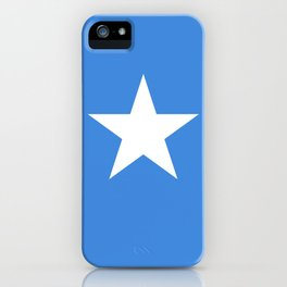 National flag of Somalian - Authentic version to scale and color iPhone Case