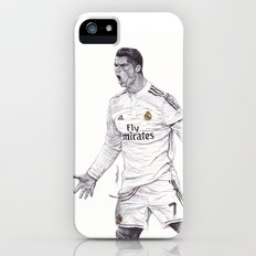 CR7 Drawing iPhone (5, 5s) Slim Case