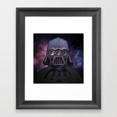 3 Eyes Darth Vader Framed Art Print