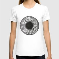 iris T-shirts featuring Iris by ECMazur