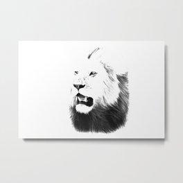 Lion Portrait, Lions of the Masai  Metal Print