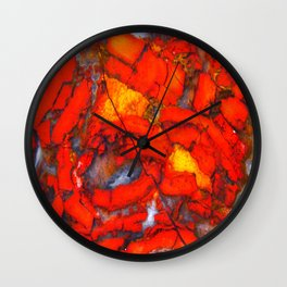 Lavic Jasper  Wall Clock