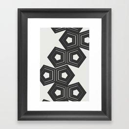 Abstract Pattern Polygon #society6 #decor #buyart Framed Art Print