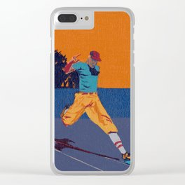 Let Me Be Bunt Clear iPhone Case