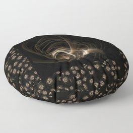 Abstract 17 001g Floor Pillow