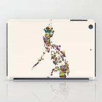 philippines iPad Cases featuring 7,107 Islands | A Map of the Philippines by QUEQZZ