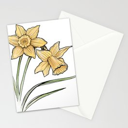 Daffodil: New beginnings Stationery Cards