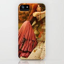Autum Longing iPhone Case