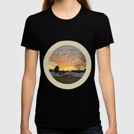 Winter Sunset, Chicago, 2018 T-shirt