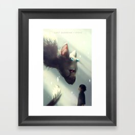 Last Guardian + FFXV Framed Art Print