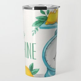 Lemon Kitchen Scale 1 Travel Mug
