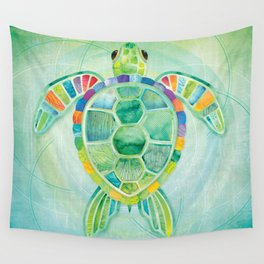 SHANTI SPARROW: Byron the Turtle Wall Tapestry