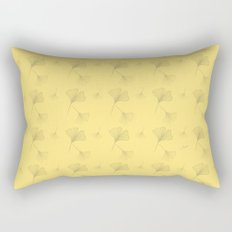 Ginkgo Summer Gold Rectangular Pillow