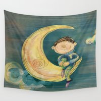 boy Wall Tapestries featuring Boy by Catru