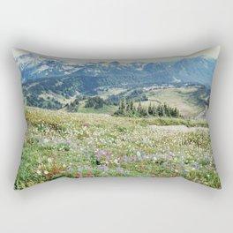 Wildflower Meadow Rectangular Pillow