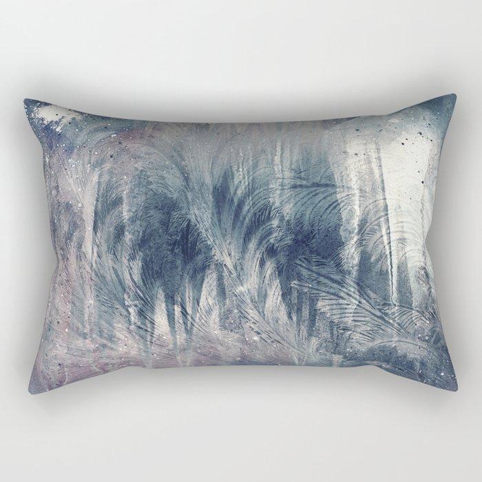 Dream in Grey Rectangular Pillow